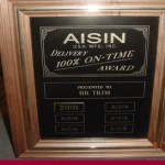 Award-Aisin